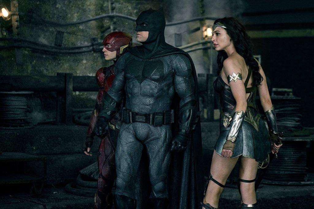 Justice League - Ben Affleck, Gal Gadot e Ezra Miller