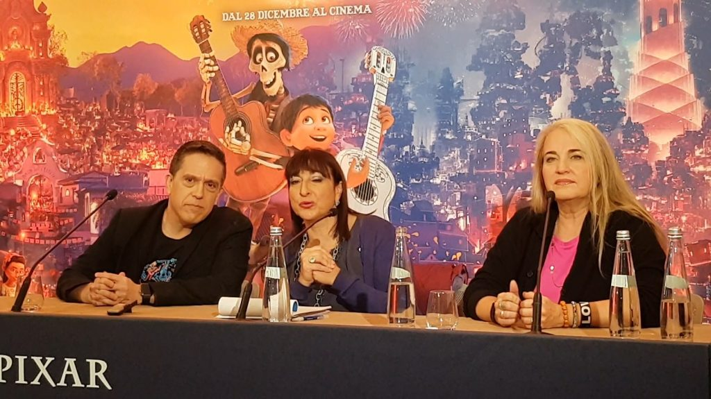 Coco - Lee Unkrich e Darla K. Anderson press conference (Photo Ivan Zingariello)