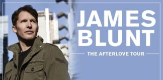 James Blunt - The Afterlove Tour - banner