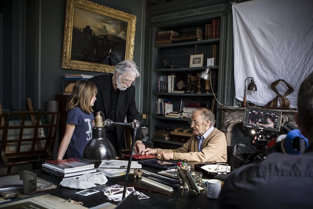Michael Haneke dirige Jean-Louis Trintignant e Fantine Harduin in Happy End