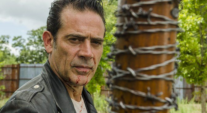 Negan e Lucille the walking dead