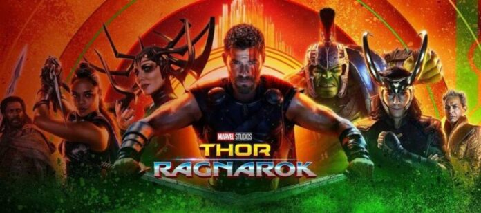 Thor Ragnarok - Locandina