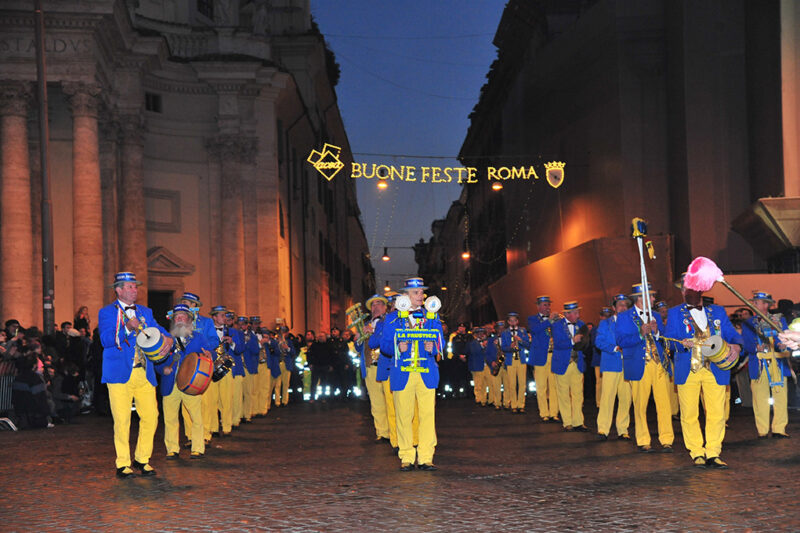Rome New Year's Day Parade