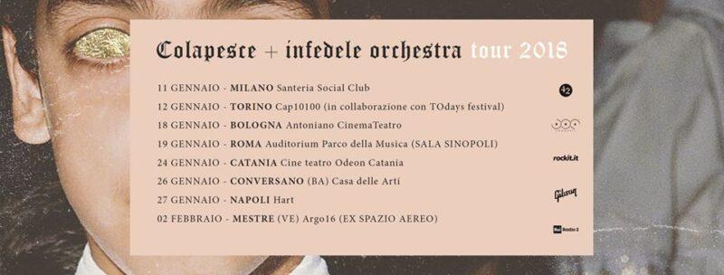 Colapesce - Tour
