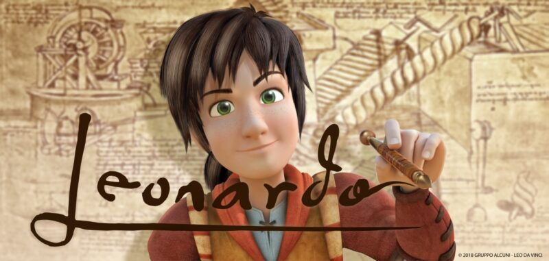Leo da Vinci – Missione Monna Lisa. leo e gioconda 21