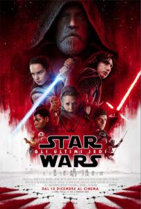 Star Wars - Episodio VIII: gli ultimi Jedi locandina