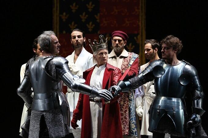 Riccardo II, regia di Peter Stein. Ritorno al Premio Europa