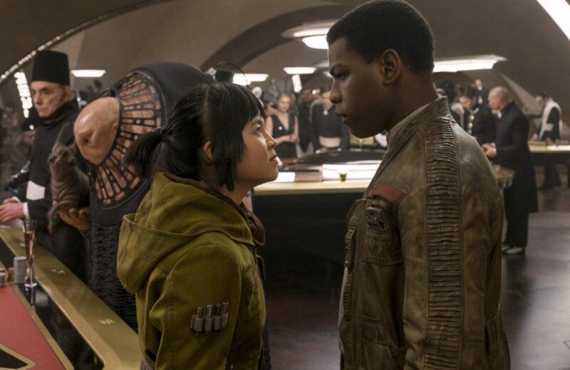 Star Wars: Gli ultimi Jedi, Boyega e Tran
