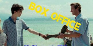 Box office 29-01-18 - Chiamami col tuo nome