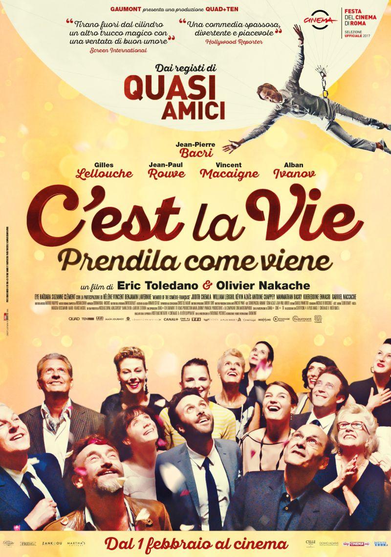 C'est la vie - Prendila come viene: nuovi trailer e poster