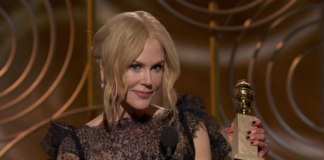 Golden Globe 2018 - Nicole Kidman