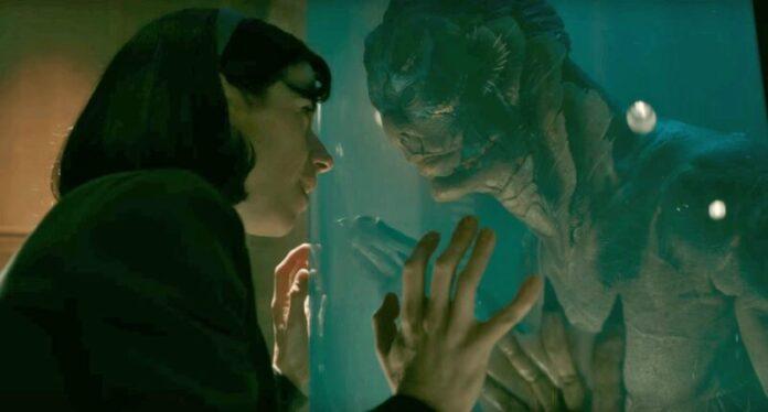 La forma dell'acqua - Sally Hawkins e la creatura