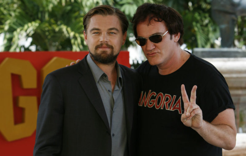 Leonardo DiCaprio - Quentin Tarantino