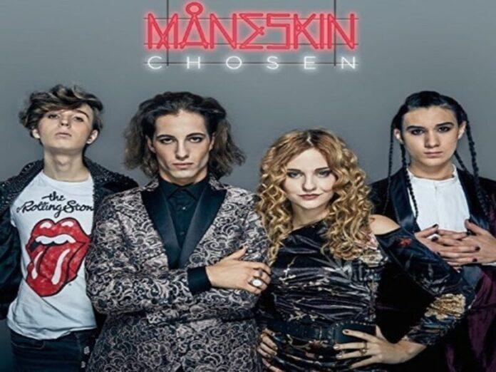 Maneskin - Copertina