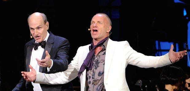 Sting e James Taylor - Festival di Sanremo 201