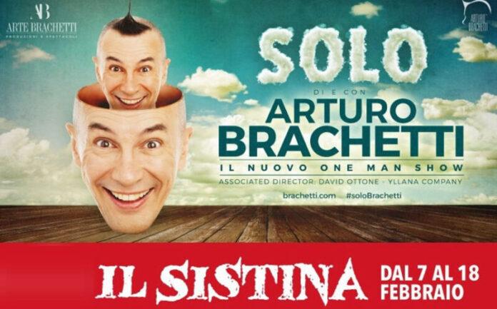 Arturo Brachetti - Solo banner