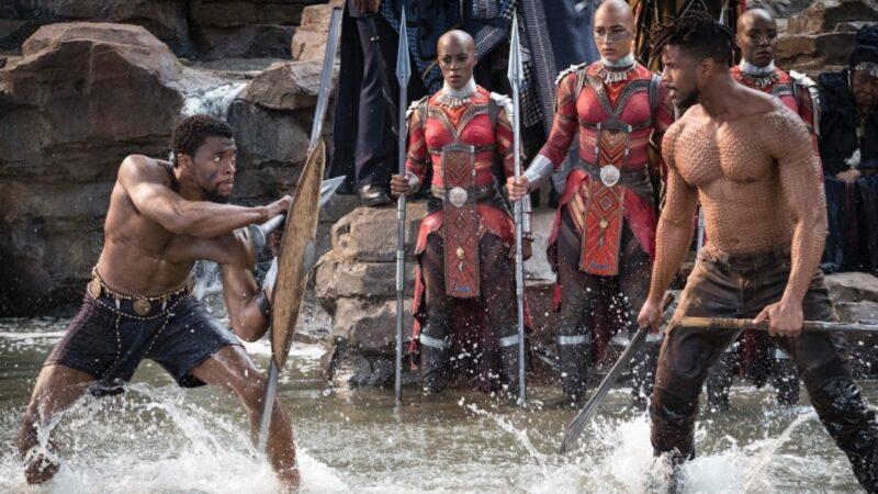 Black Panther - il combattimento tra T'Challa e Killmonger