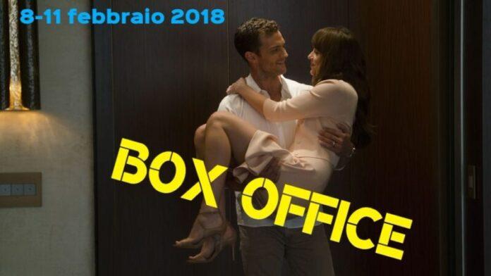 Box office 12-02-18 - Cinquanta sfumature di rosso