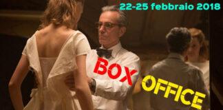 Box office 26-02-18 - Il filo nascosto