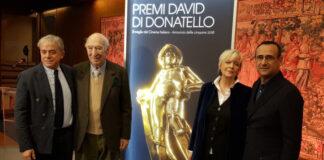 David di Donatello 2018 - Conferenza stampa (foto Ivan Zingariello)