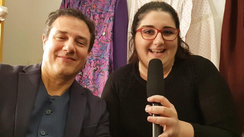 Hairspray - Giampiero Ingrassia e Mary La Targia - intervista (foto Ivan Zingariello)
