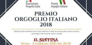 Premio orgoglio italiano