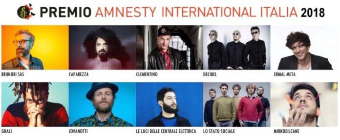 Premio Amnesty International - copertina