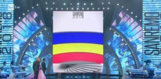 Sanremo 2018 - Classifica quarta serata