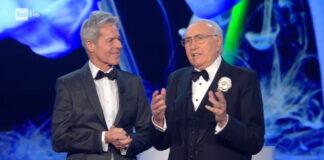 Sanremo 2018 - Claudio Baglioni e Pippo Baudo