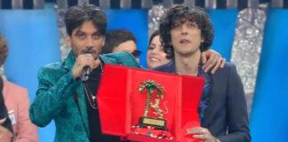 Sanremo 2018 - Ermal Meta e Fabrizio Moro vincono