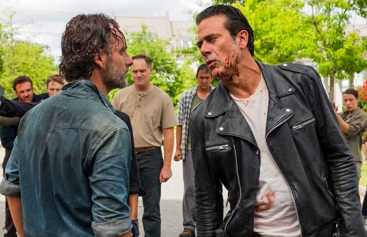 The Walking Dead Rick Negan