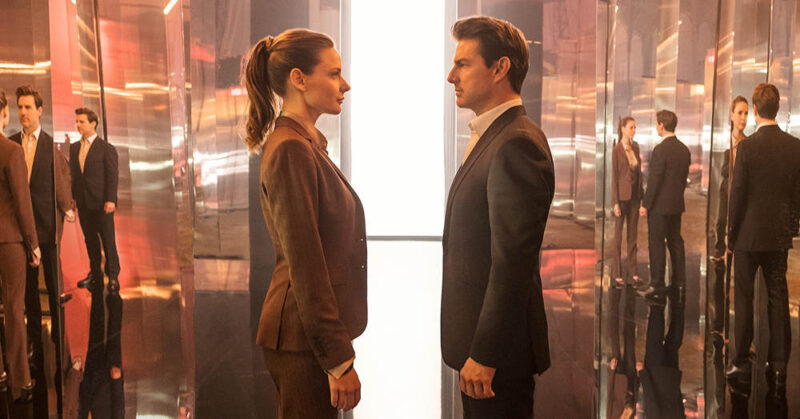 Tom Cruise e Rebecca Ferguson in Mission Impossible - Fallout