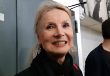 Barbara Bouchet - Intervista Metti la nonna in freezer (foto Ivan Zingariello)