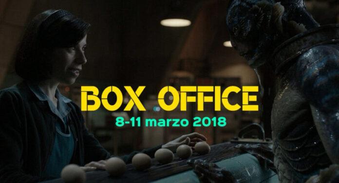 Box Office 12-03-18 - La forma dell'acqua