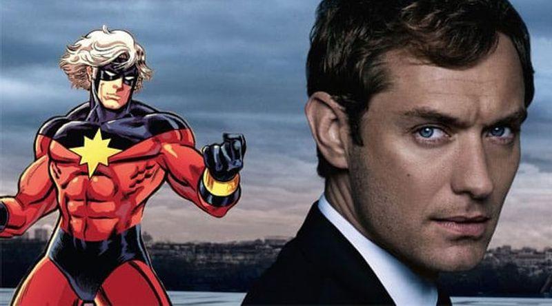 Captain Marvel: Jude Law protagonista maschile