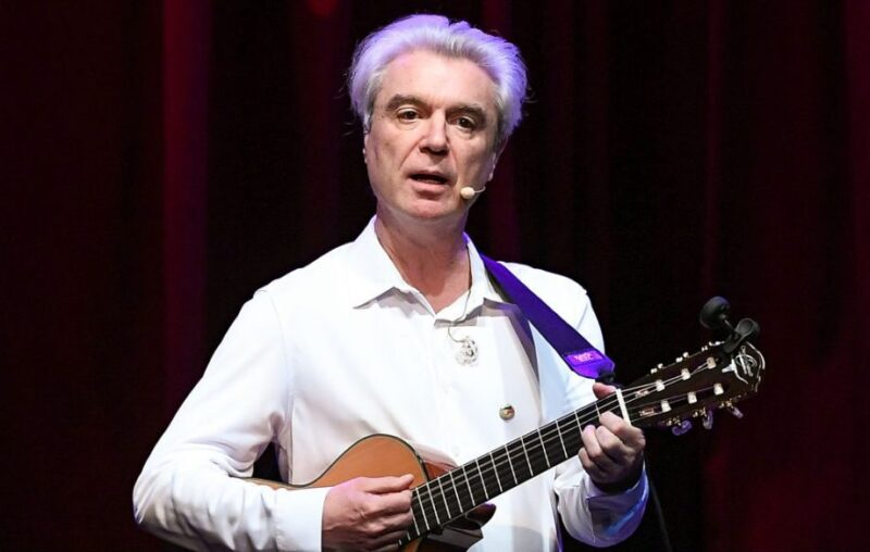 David Byrne - live