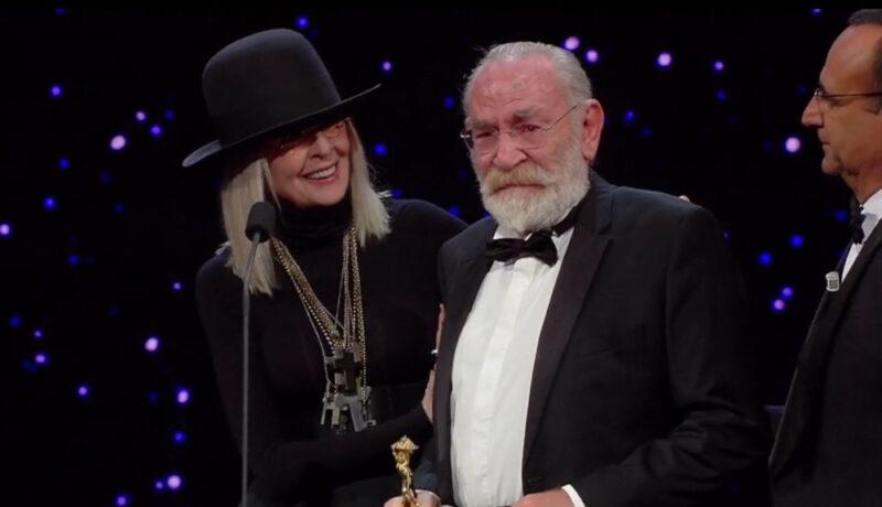 David di Donatello 2018 - Renato Carpentieri con Diane Keaton - La tenerezza