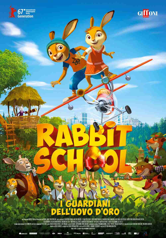 Rabbit School - I Guardiani dell'Uovo d'Oro
