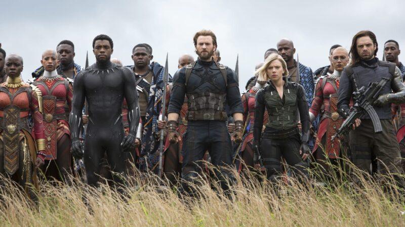 Captain America, Black Panther, Vedova Nera e il Soldato d'Inverno