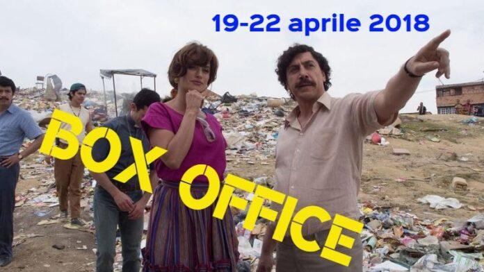 Box Office 23-04-18 - Escobar - Il fascino del male (2)