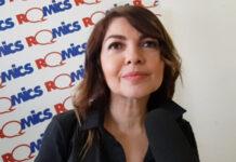 Cristina D'Avena - intervista Romics (foto Ivan Zingariello)