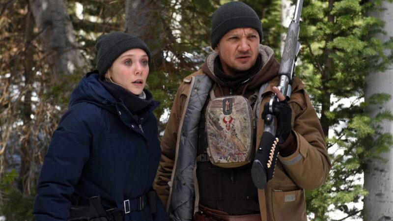 Jeremy Renner ed Elizabeth Olsen - I segreti di Wind River