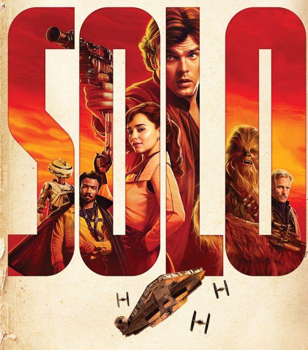 Solo: A Star Wars Story. La locandina del film, nelle sale dal 23 maggio 2018