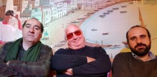 Io tu e Pino Mauro (foto Ivan Zingariello)
