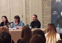 Joaquin Phoenix e Lynne Ramsay - conferenza stampa A Beautiful Day