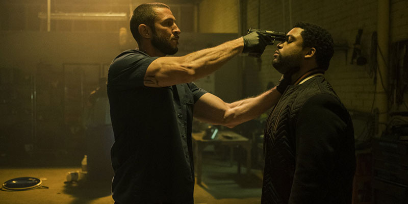 Nella tana dei lupo: Merriman (Pablo Schreiber) minaccia Donnie (O'Shea Jackson Jr.)