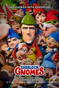 Sherlock Gnomes locandina (eng)