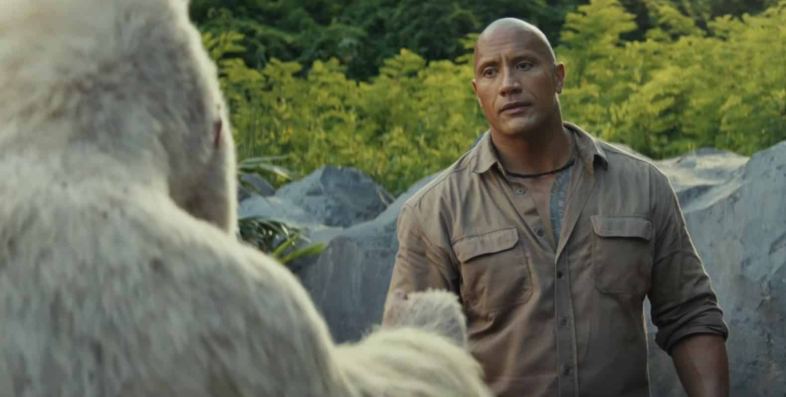Dwayne Johnson/George