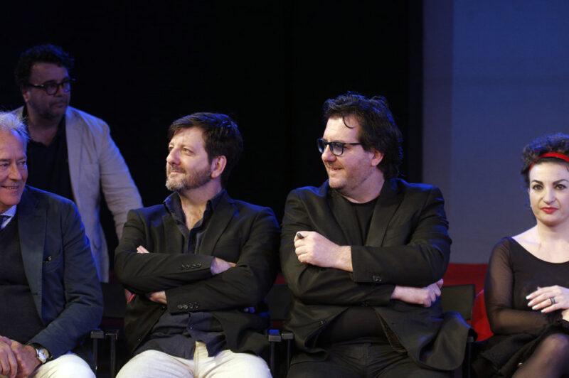 Presentazione Teatro Golden 2018/19 - Corrado Tedeschi, Augusto e Toni Fornari, Francesca Milani