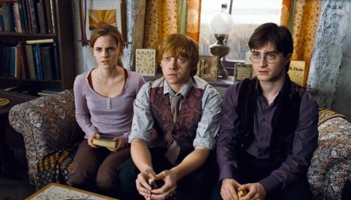 Harry Potter: Emma Watson, Rupert Grint e Daniel Radcliffe